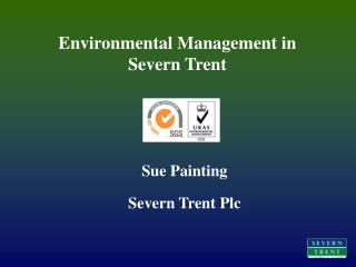 Environmental Management in Severn Trent