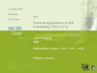 John Pickford IBM