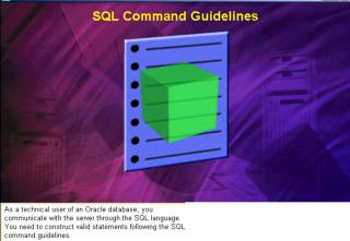 SQL statements are not case sensitive.  SQL statements can be on one or more lines.