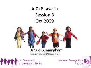 AiZ (Phase 1) Session 3 Oct 2009