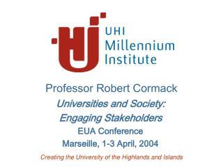 Professor Robert Cormack