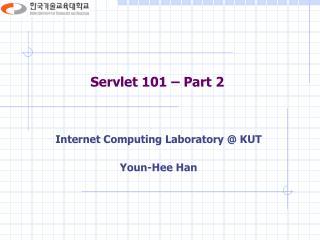 Servlet 101 – Part 2