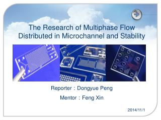 The Research of Multiphase Flow Distributed in Microchannel and Stability