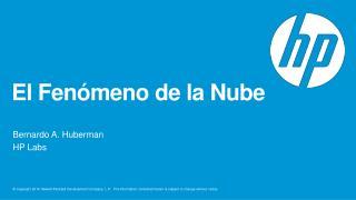 El  F enómeno  de la  N ube
