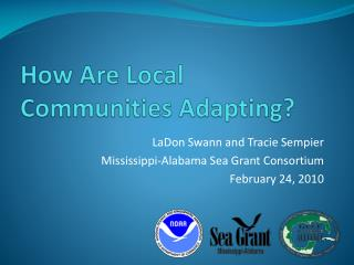 How Are Local Communities Adapting?