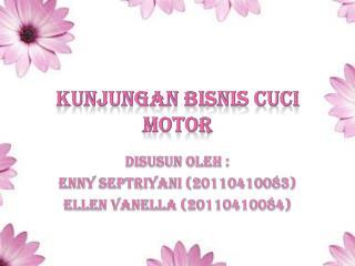 KUNJUNGAN BISNIS CUCI MOTOR
