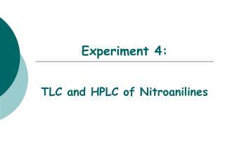 Experiment 4: