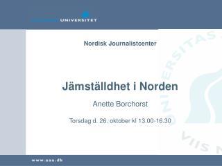 Nordisk Journalistcenter
