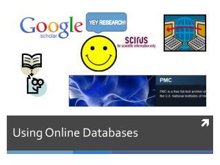 Using Online Databases