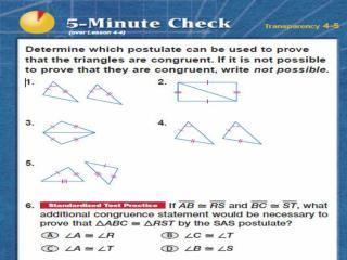 Isosceles Triangles