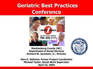 Geriatric Best Practices Conference