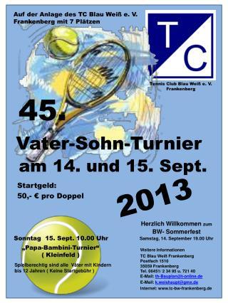 Tennis Club Blau Weiß e. V. Frankenberg
