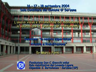 Dr Marco Forni