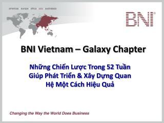 BNI Vietnam – Galaxy Chapter