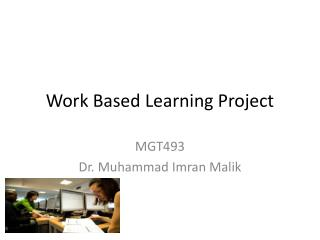 Work Based Learning Project