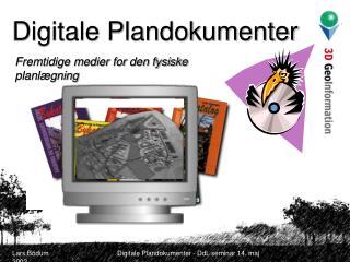 Digitale Plandokumenter