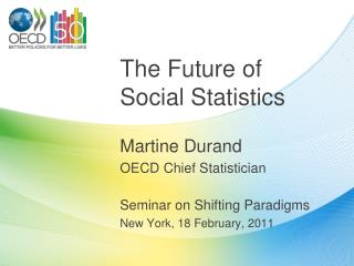 The Future of Social Statistics