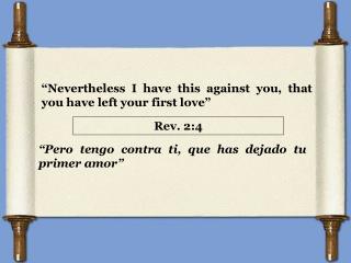 Rev. 2:4