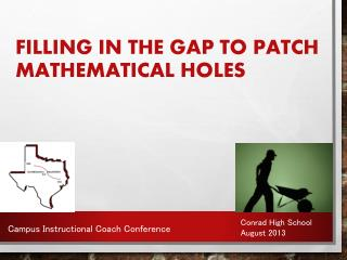 Filling In The Gap to Patch Mathematical Holes