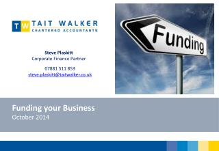 Funding your Business October 2014