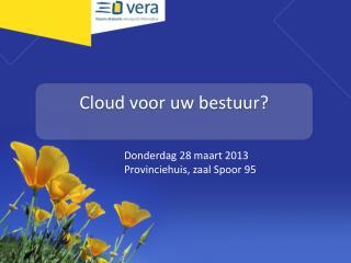Cloud voor uw bestuur?