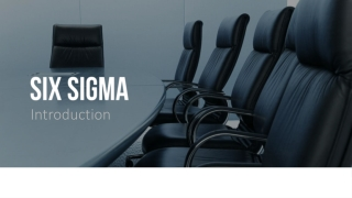 Looking into the Future of Design for Six Sigma DFSS