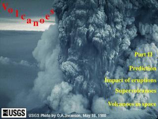 Impact of eruptions