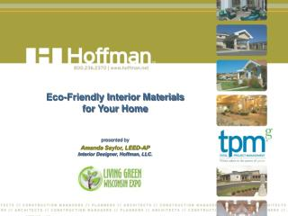 Eco-Friendly Interior Materials