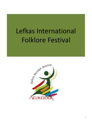 Lefkas International Folklore Festival