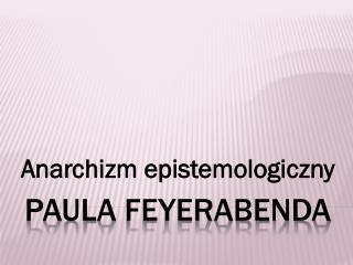 Paula  Feyerabenda
