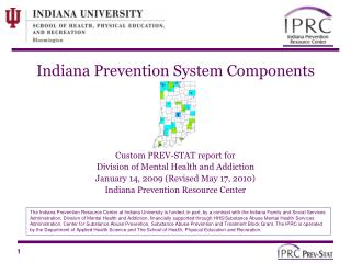 Indiana Prevention System Components
