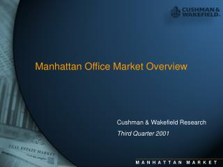 Manhattan Office Market Overview