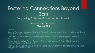 Strategies for addressing challenges around Termination of Parental Rights.