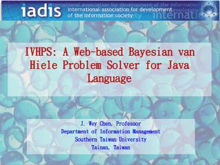 IVHPS: A Web-based Bayesian van Hiele Problem Solver for Java Language