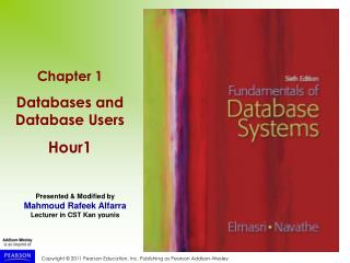 Chapter 1 Databases and Database Users Hour1