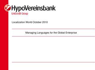 Localization World October 2010