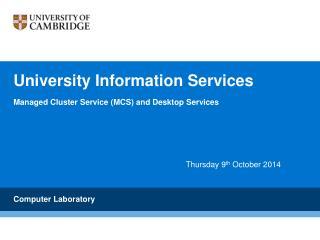 University Information Services