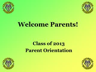 GHS Parent Orientation