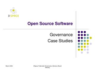 a study on open source software The free software philosophy has brought enormous amounts of good to the world the team at study notes firmly believes this that's why we release all our code as open source on github.