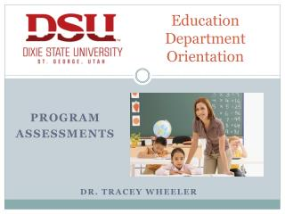 Education Department Orientation