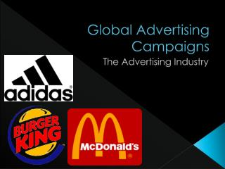Global Advertising Campaigns