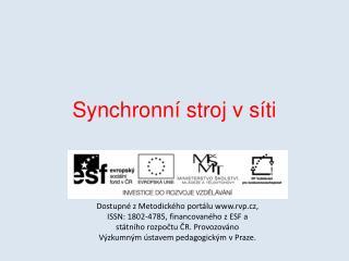 Synchronní stroj v síti