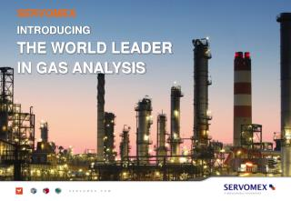 INTRODUCING THE WORLD LEADER IN GAS ANALYSIS