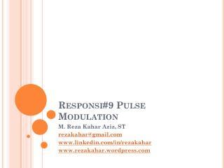 Responsi#9 Pulse Modulation