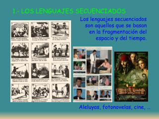 1.- LOS LENGUAJES SECUENCIADOS