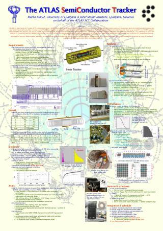 The ATLAS  S emi C onductor T racker