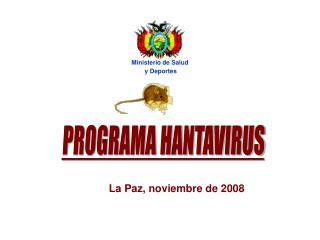 PROGRAMA HANTAVIRUS