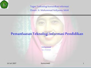 Pemanfaatan Teknologi Informasi Pendidikan