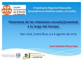 II Seminario Regional Educación Secundaria en América Latina y el Caribe .