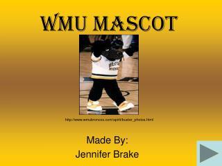 WMU Mascot